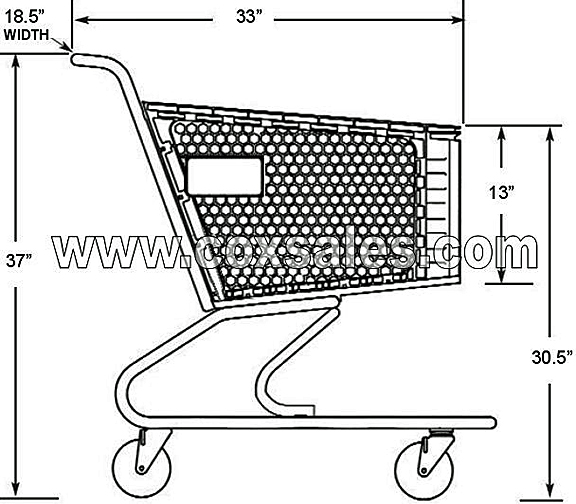 Small Size Shopping Cart